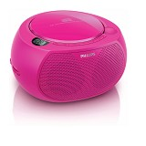 PHILIPS CD Soundmachine [AZ100C] - Pink - Mini Compo